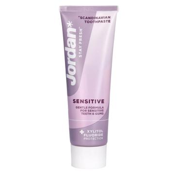 Jordan Pasta do zębów Stay Fresh Sensitive (75 ml)