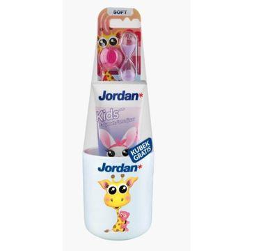 Jordan – Zestaw Kids Pasta Szczoteczka Kubek 0-5 Lat (1 szt.)