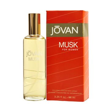 Jovan Musk For Women Concentrate woda kolońska spray (96 ml)