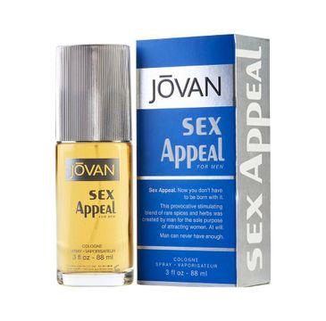 Jovan Sex Appeal For Men woda kolońska spray (88 ml)