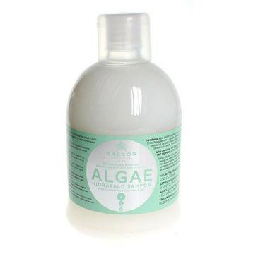 Kallos Algae Moisturizing Shampoo With Algae Extract And Olive Oil nawilżający szampon z ekstraktem z alg i olejem oliwkowym do włosów suchych 1000ml