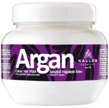 Kallos Argan Colour Hair Mask arganowa maska do włosów farbowanych 275ml
