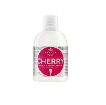 Kallos Cherry Conditioning Shampoo With Cherry Seed Oil kondycjonujący szampon z olejkiem z pestek czereśni do włosów zużytych 1000ml