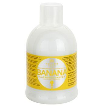 Kallos KJMN Banana Fortifying Shampoo With Multivitamin Complex szampon wzmacniający do włosów 1000ml