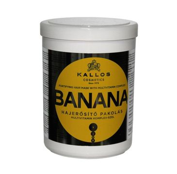 Kallos - maska do włosów Banan (1000 ml)