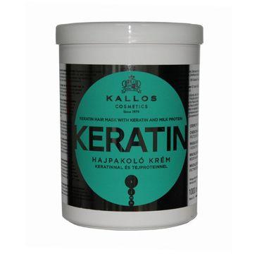 Kallos - maska do włosów Keratin (1000 ml)