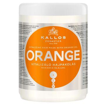 Kallos – Maska do włosów z olejkiem pomarańczowym (1000 ml)