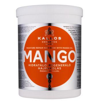 Kallos KJMN Moisture Repair Hair Mask With Mango Oil maska do włosów z olejem Mango 1000ml