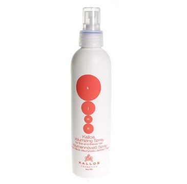 Kallos KJMN Volumizing Spray spray do włosów zwiększający objętość 200ml