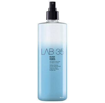 Kallos LAB 35 Duo-Phase Detangling Conditioner dwufazowy wygładzający i ułatwiający czesanie spray do włosów 500ml