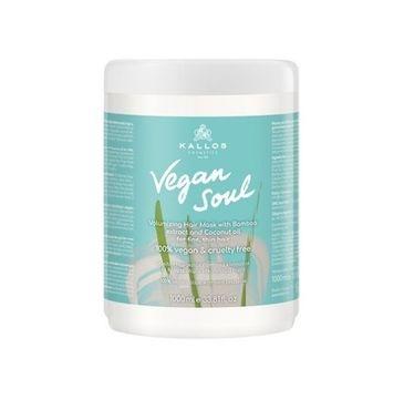 Kallos – Vegan Soul odżywcza maska do włosów (1000 ml)