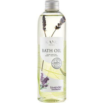 Kanu Nature Bath Oil – olejek do kąpieli Lawenda i Drzewo Sandałowe (250 ml)