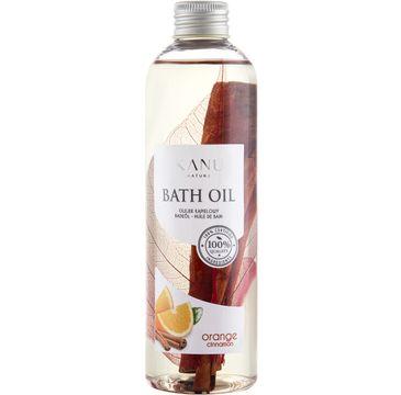 Kanu Nature Bath Oil – olejek do kąpieli Pomarańcza i Cynamon (250 ml)