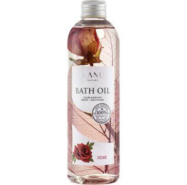 Kanu Nature – Bath Oil olejek do kąpieli Róża (250 ml)