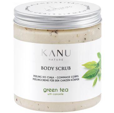 Kanu Nature Body Scrub – peeling do ciała Zielona Herbata z Rumiankiem (350 g)