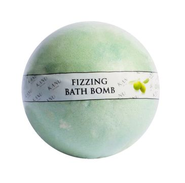 Kanu Nature Fizzing Bath Bomb 鈥� kula musuj膮ca do k膮pieli Oliwka (160 g)