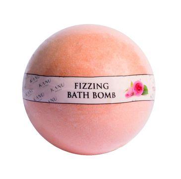 Kanu Nature Fizzing Bath Bomb – kula musująca do kąpieli Roża (160 g)