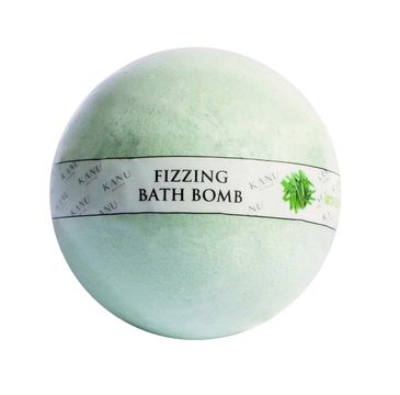 Kanu Nature – Fizzing Bath Bomb kula musująca do kąpieli Trawa Cytrynowa (160 g)