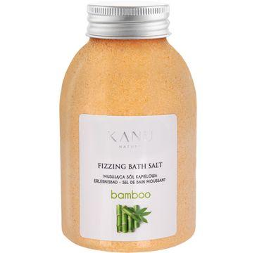 Kanu Nature – Fizzing Bath Salt sól musująca do kąpieli bambus (250 g)