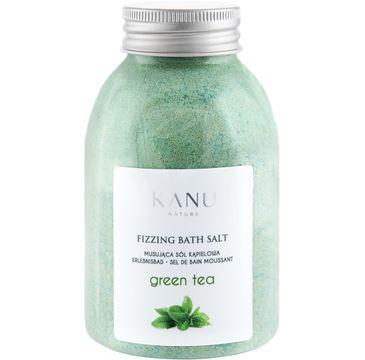 Kanu Nature – Fizzing Bath Salt sól musująca do kąpieli zielona herbata (250 g)