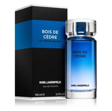 Karl Lagerfeld Bois De Cedre woda toaletowa spray 100ml