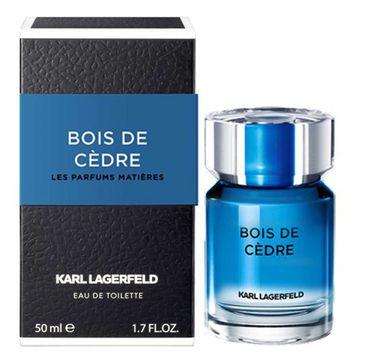 Karl Lagerfeld Bois De Cedre woda toaletowa spray (50 ml)