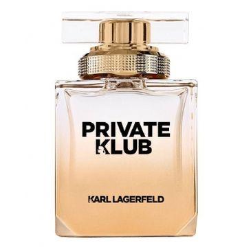 Karl Lagerfeld Private Klub Pour Femme woda perfumowana spray 85ml