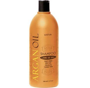 Kativa Argan Oil Shampoo szampon do włosów z olejkiem arganowym 500ml
