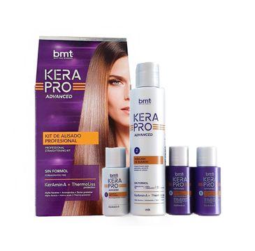 Kativa BMT KeraPro Advanced Kit zestaw do keratynowego wygładzania włosów