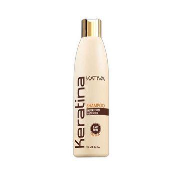 Kativa Keratina Shampoo szampon keratynowy do włosów 250ml