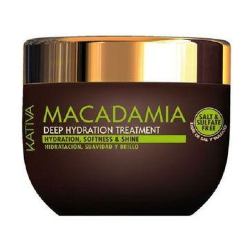 Kativa Macadamia Deep Hydrating Treatment maska do włosów 250ml