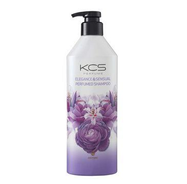 KCS Elegance & Sensual Perfumed Shampoo perfumowany szampon do włosów suchych i zniszczonych (600 ml)