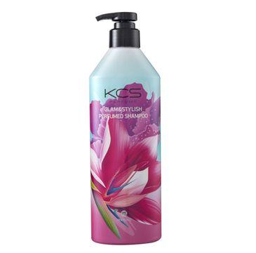 KCS Glam & Stylish Perfumed Shampoo perfumowany szampon do włosów suchych i zniszczonych (600 ml)
