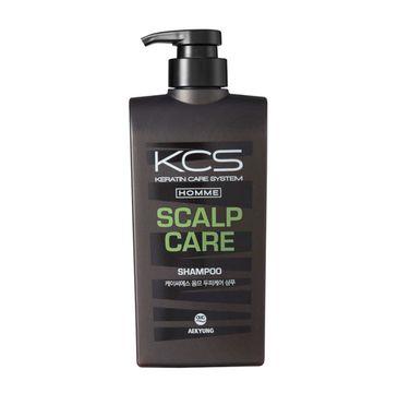 KCS Homme Scalp Care Shampoo przeciwłupieżowy szampon dla mężczyzn (550 ml)