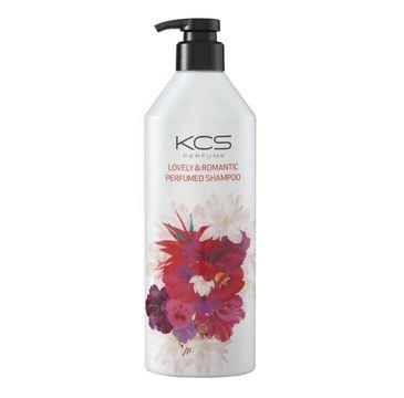 KCS Lovely & Romantic Perfumed Shampoo perfumowany szampon do każdego rodzaju włosów (600 ml)
