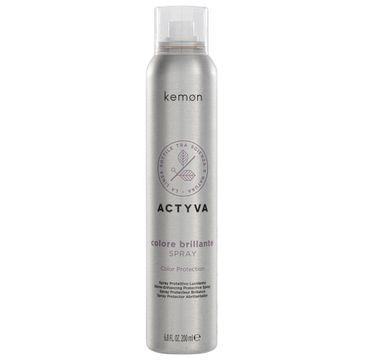 Kemon Actyva Colore Brillante spray ochronny do włosów farbowanych (200 ml)