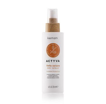 Kemon Actyva Linfa Solare Dry Spray suchy spray ochronny do włosów (125 ml)