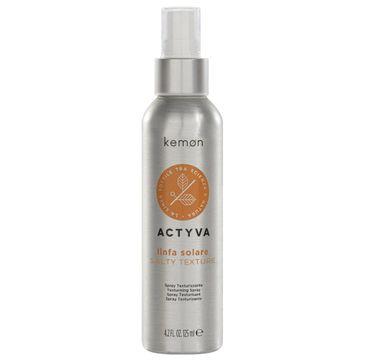 Kemon Actyva Linfa Solare spray teksturyzujący do włosów (125 ml)