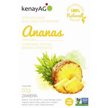 KenayAg Ananas sproszkowany sok 50g