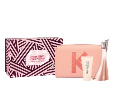 Kenzo – Jeu d'Amour zestaw woda perfumowana spray 100ml + krem do ciała 50ml + kosmetyczka (1 szt.)