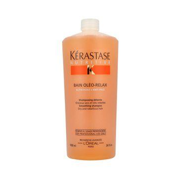 Kerastase Nutritive Bain Oleo-Relax Smoothing Shampoo szampon do włosów suchych i opornych na układanie 1000ml