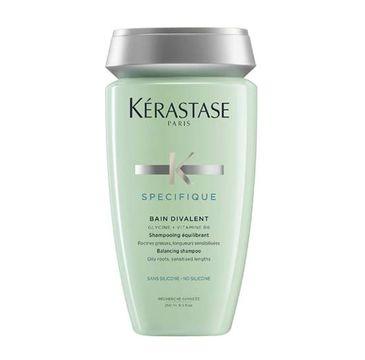 Kerastase Specifique Bain Divalent Balancing Shampoo szampon do włosów tłustych i suchych 250ml