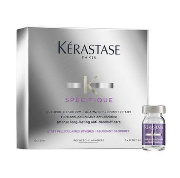 Kerastase Specifique Intense Long-Lasting Anti-Dandruff Care kuracja przeciwłupieżowa w ampułkach 12x6ml