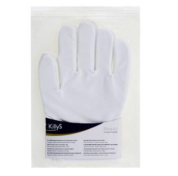 KillyS – Bawełniane rękawiczki do pielęgnacji dłoni (2 szt.)