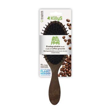 KillyS Biodegradable Brush biodegradowalna szczotka do włosów z ziaren kawy (1 szt.)