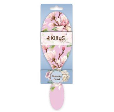 KillyS Blooming Pastel Hairbrush szczotka do włosów Różowa Magnolia (1 szt.)