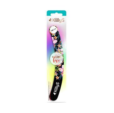 KillyS Color Love pilnik do paznokci banan 180/240 (1 szt.)