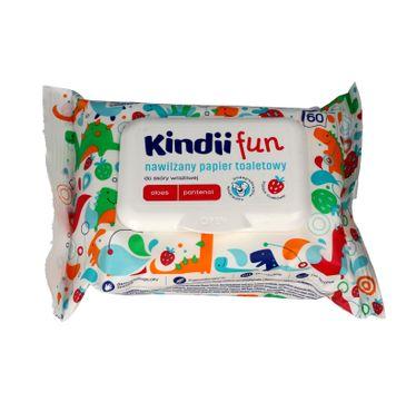 Kindii Fun nawilżany papier toaletowy dla dzieci 1 op. - 60 szt.