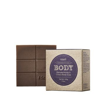 Klairs Manuka Honey & Choco Body Soap mydło do ciała i twarzy w kostce 100g
