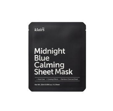 Klairs Midnight Blue Calming Sheet Mask łagodząca maska w płachcie 25ml